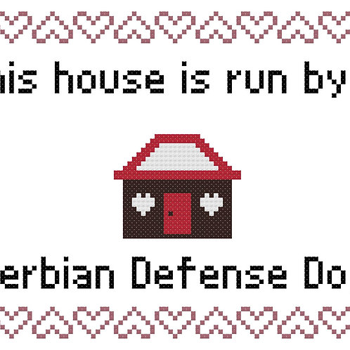 Serbian Defense Dog, This house is run by