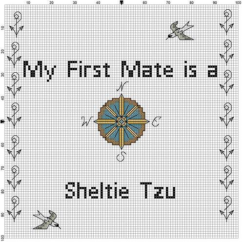 Sheltie Tzu, My First Mate is a