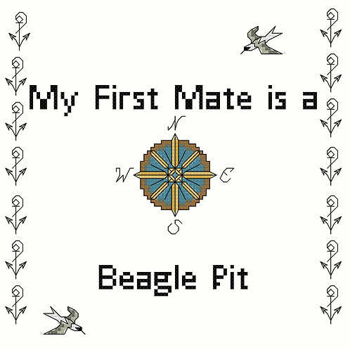 Beagle Pit, My First Mate is a