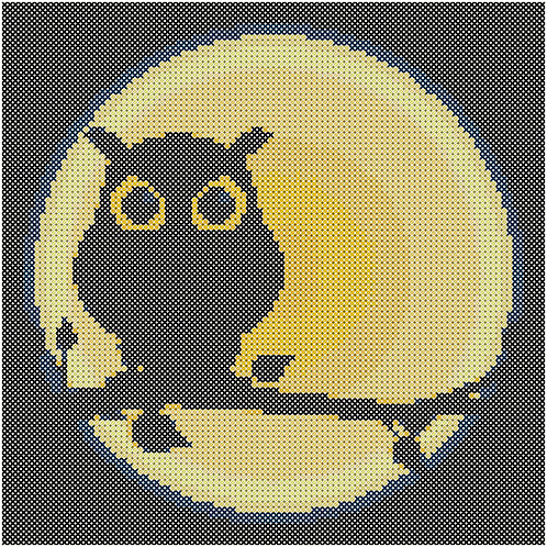 By The Light of the Moon cross stitch
