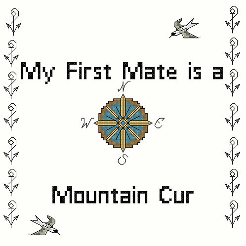 Mountain Cur, My First Mate is a
