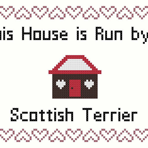 Scottish Terrier, This house is run by