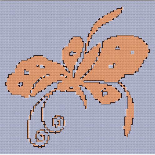 Mahogany Butterfly
