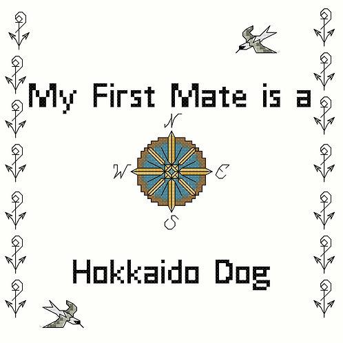 Hokkaido Dog, My First Mate is a