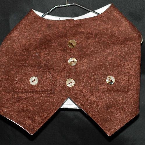 Vest with False Pockets