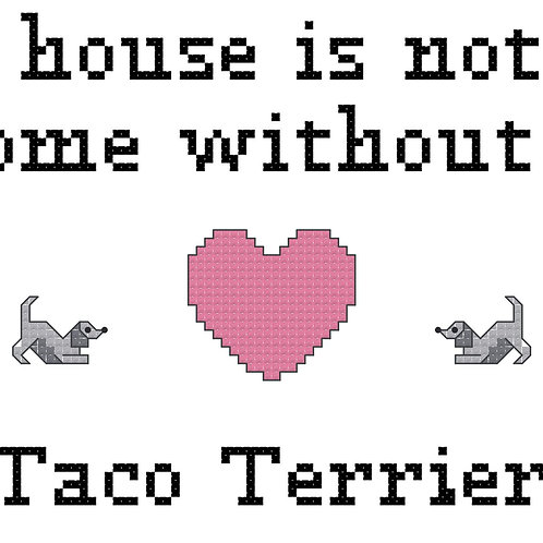 Taco Terrier, A House is Not a Home Without