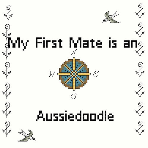 Aussiedoodle, My First Mate is a