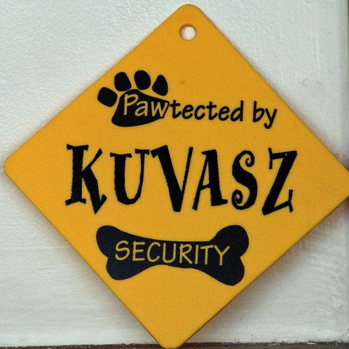 Kuvasz, Pawtected by