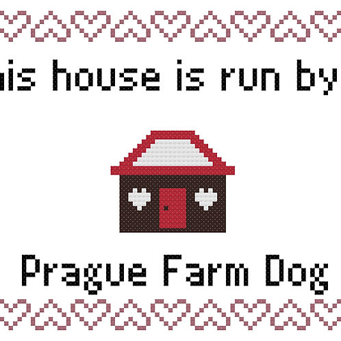 Prague Farm Dog, This house is run by