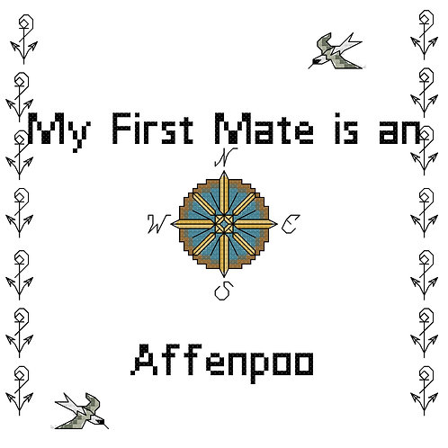 Affenpoo, My First Mate is a