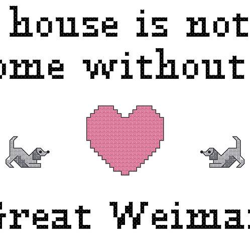 Great Weimar, A House is Not a Home Without