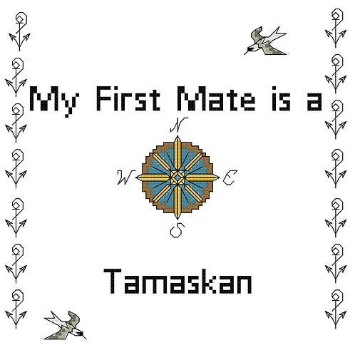 Tamaskan, My First Mate is a