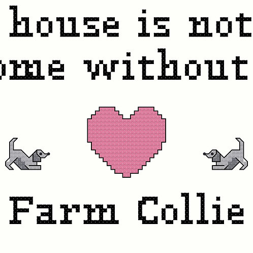 Farm Collie, A House is Not a Home Without