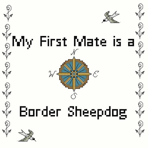 Border Sheepdog, My First Mate is a
