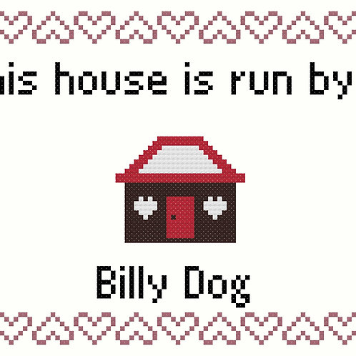 Billy Dog, This house is run by