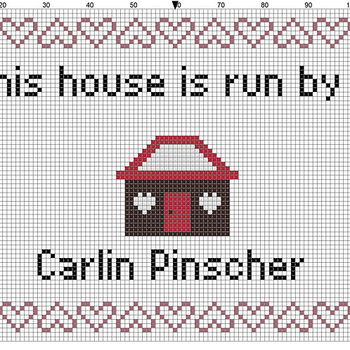 Carlin Pinscher, This house is run by