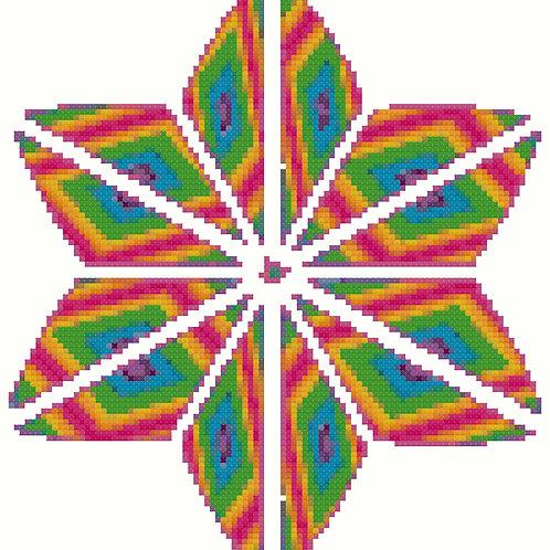 Psychodelic Geometric Motif