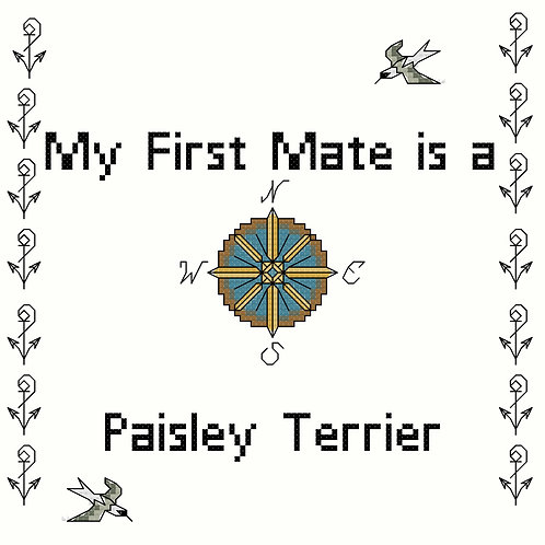 Paisley Terrier, My First Mate is a