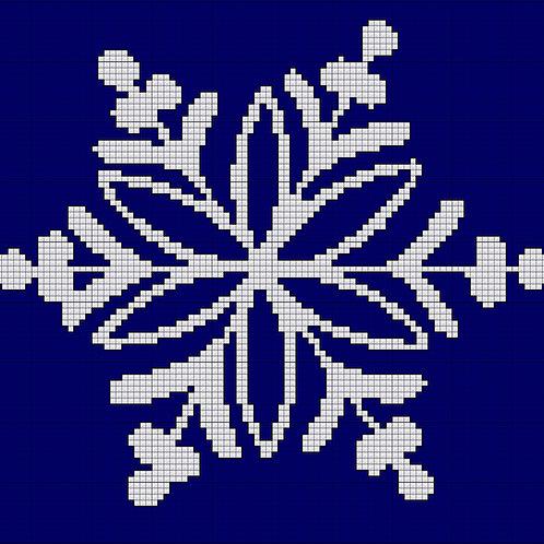 Single Snow Flake