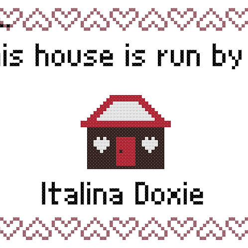 Italina Doxie, This house is run by