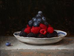 Blueberries, Raspberries, Blackberries