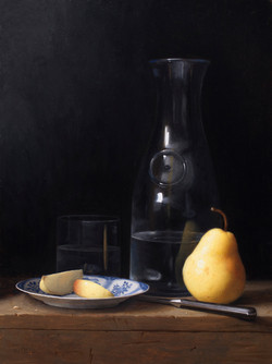 Pears and Carafe