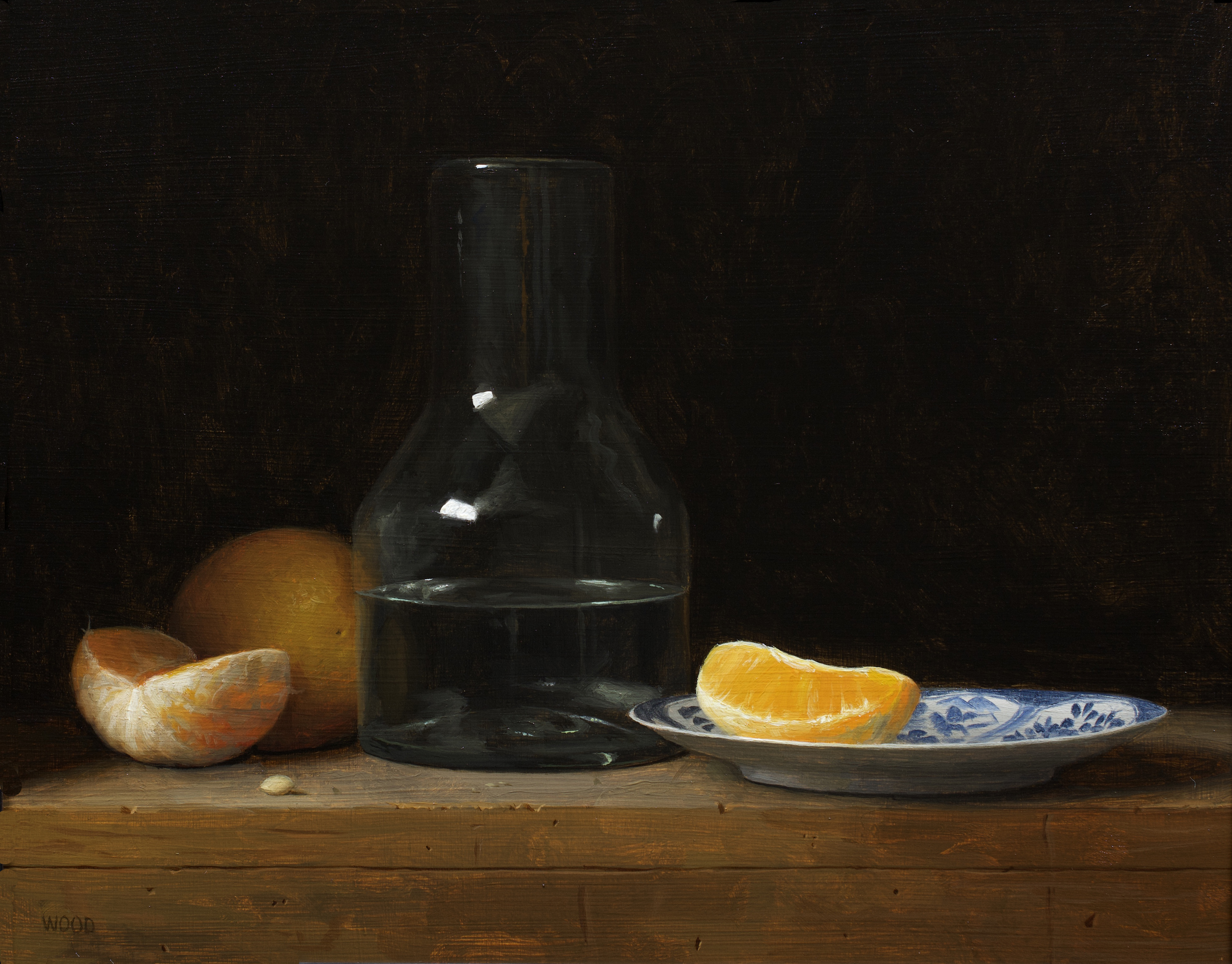 Oranges and Decanter