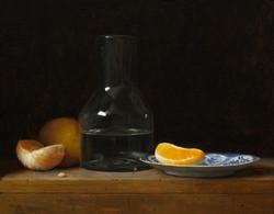 Oranges and Decanter