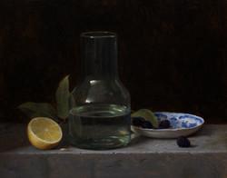 Lemon and Blackberries