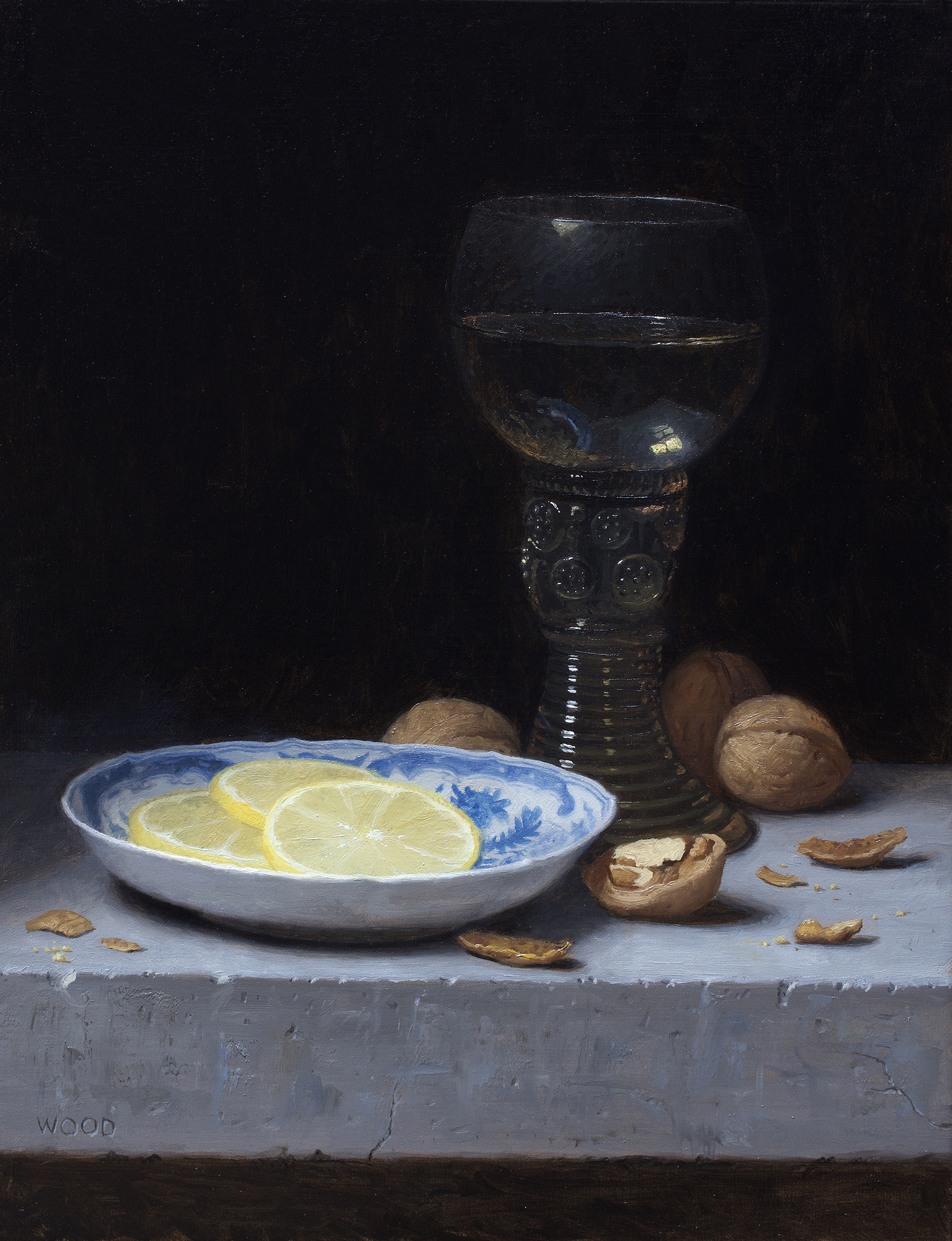 Still Life with Lemon Slices