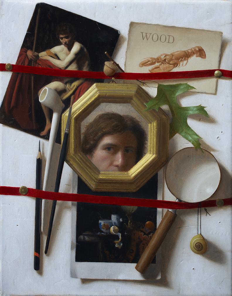 Self Portrait Trompe l'oeil