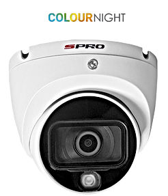 SPRO 2MP 4in1 Fixed Lens Turret with COL