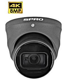 SPRO 8MP HDCVI Fixed Lens Turret With Bu