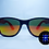Thumbnail: HAKKEN Rave Specs - Black w/ Orange Tint