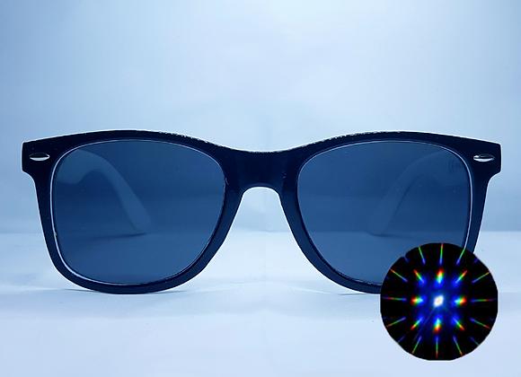 HAKKEN Rave Specs - Black & White