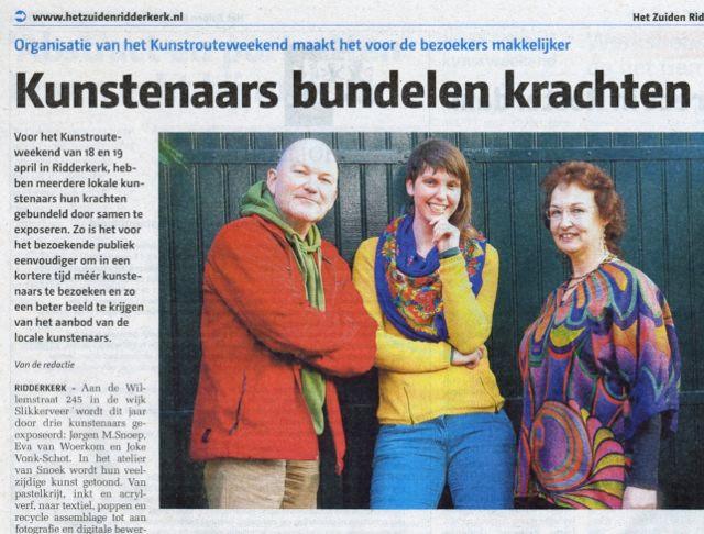Kunstroute Ridderkerk 2015