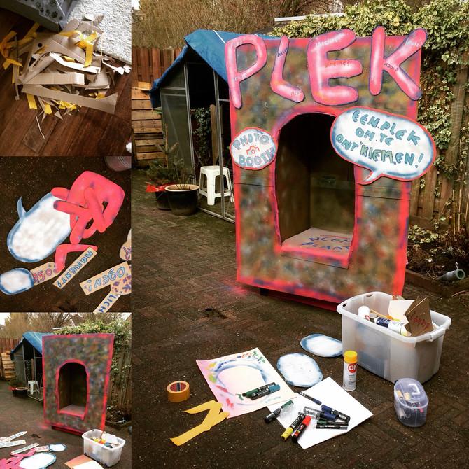 """Nieuwe PHOTO-BOOTH """"Plek"""" voor Kiem Ridderkerk..."""