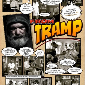 """""""From Tramp to Hipster"""" (Comic-strip)"""