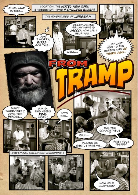 """From Tramp to Hipster"" (Comic-strip)"