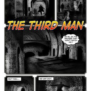 The Third Man (concept comic)