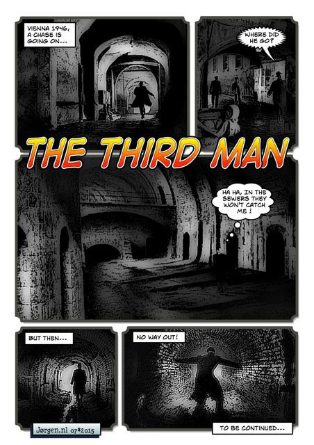The Third Man (concept comic)