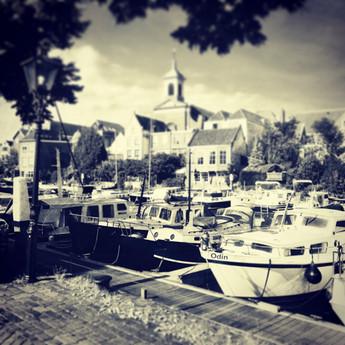 Binnen stad Dordrecht.