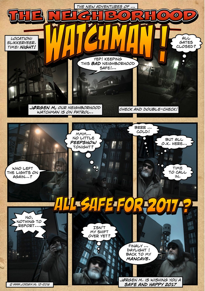 The Neighborhood Watchman Comic!