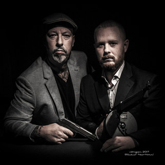 """Gangster-Shoot"". Portraits by ""Studio Neo Noir""."