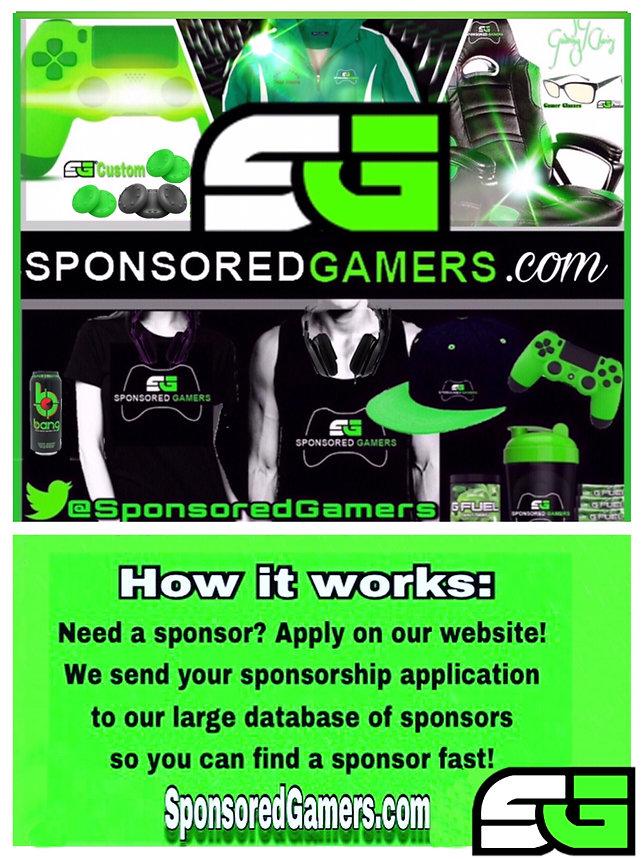 Gaming Get Sponsored