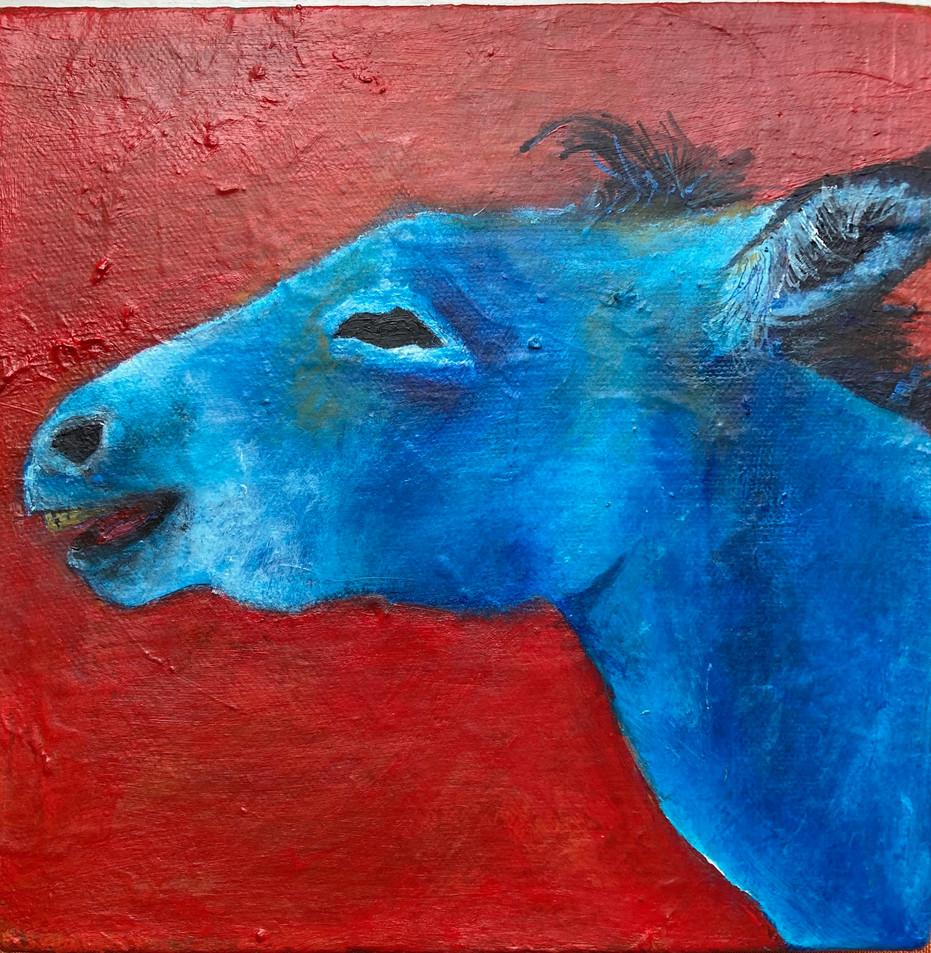 Blue Donkey - Commission
