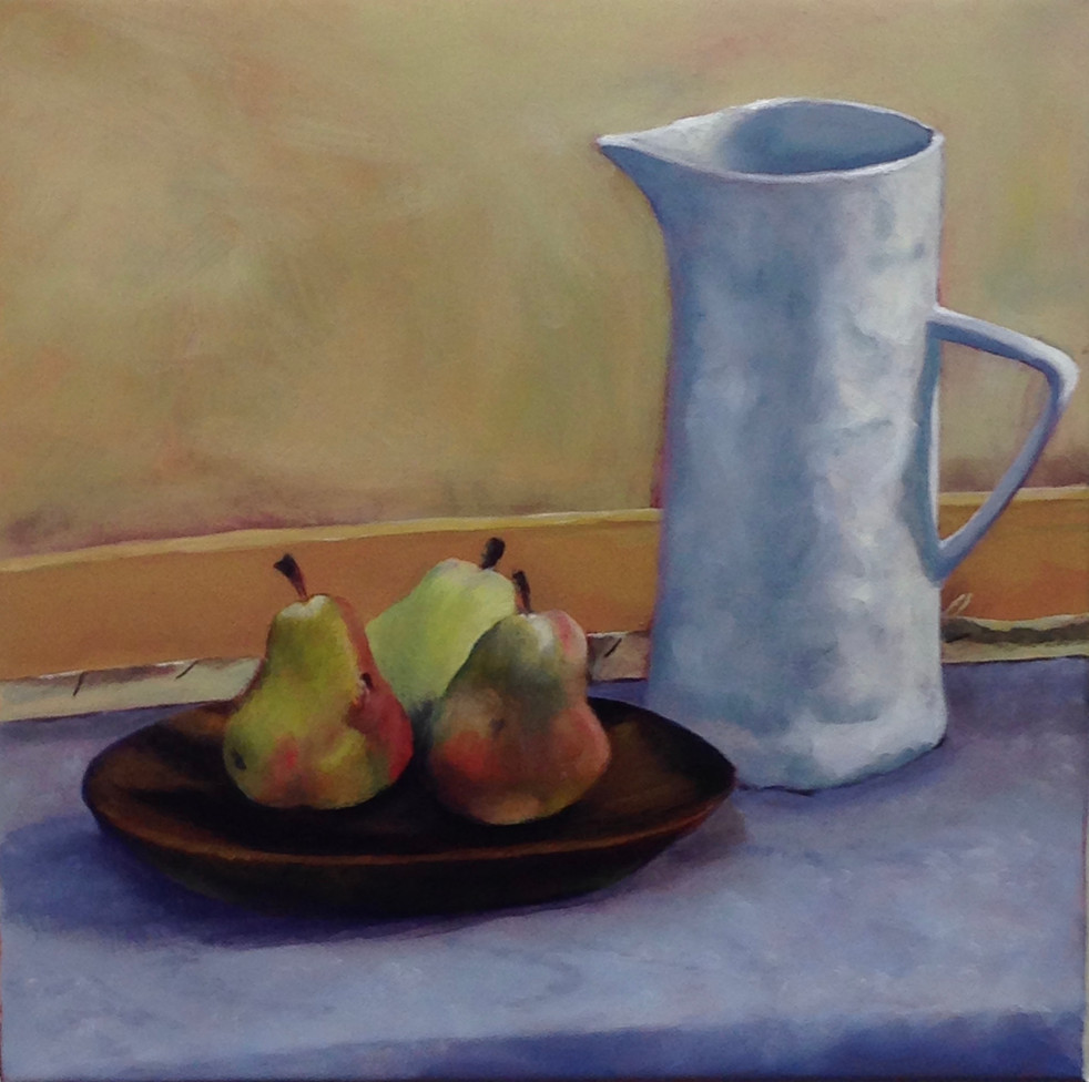 Jug with three pears