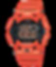 GW-9100R-4 men in rescue red, reloj gulfman naranja edicion limitada
