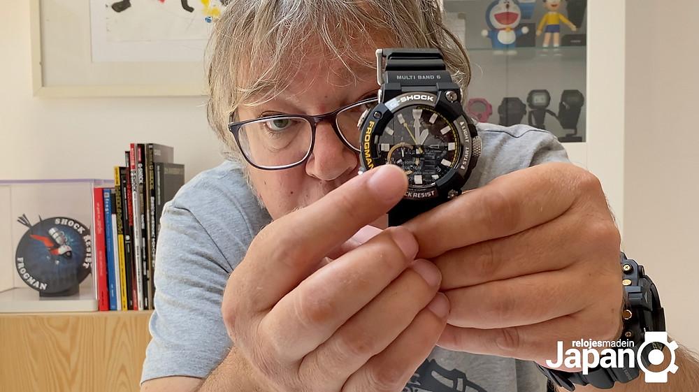vídeo review nuevo reloj analógico GWF-A1000 Frogman