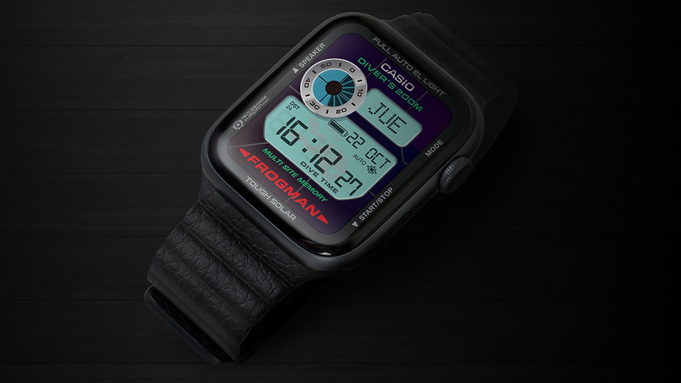 Frogman GW200 Watchface